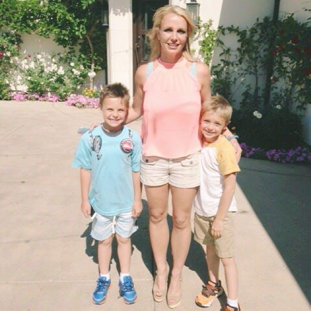 On parle bien sûr de Britney Spears, la maman de Sean         et de Jayden