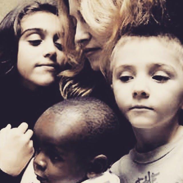 On parle bien sûr des enfants de Madonna
