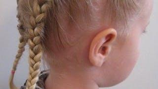 25 idées de tresses à faire aux petites filles
