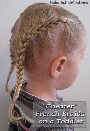 Coiffures 25 Id 233 Es De Tresses Pour Petite Fille Parents