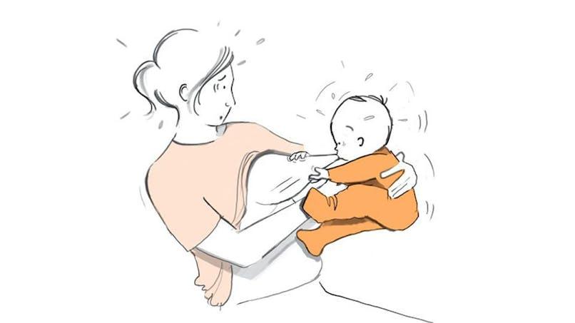 Après bébé : une artiste illustre de manière décalée sa vie de jeune maman