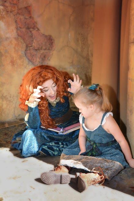 Giselle et Merida