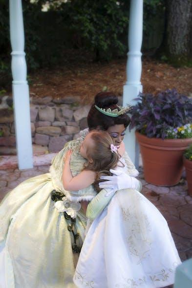 Giselle et Princesse Tiana
