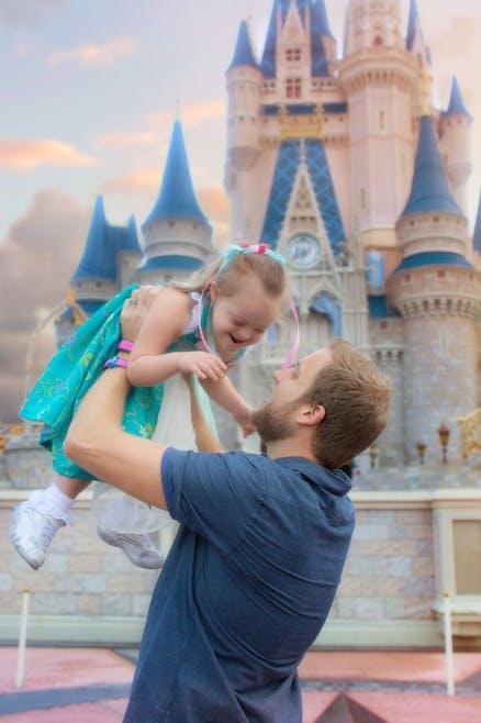 La princesse retrouve son papa