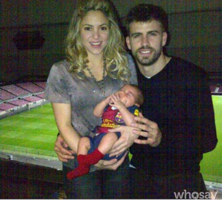 … Tout comme Shakira !