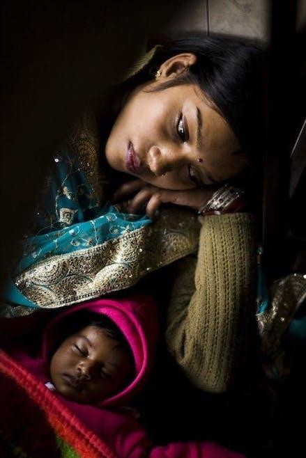 Bercement et endormissement des bébés