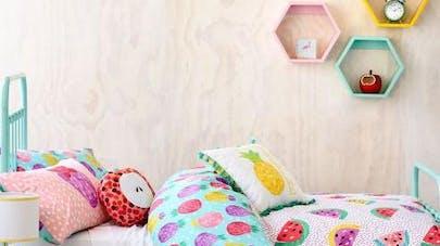Déco : la tendance fruits pour une chambre d\'enfants | PARENTS.fr