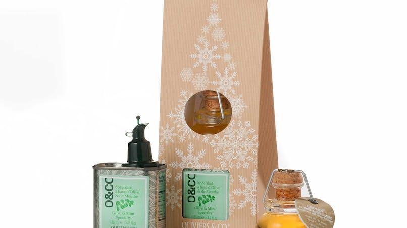 Coffret huiles d'olives gourmandes