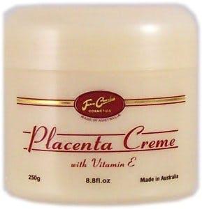 Une crème au placenta