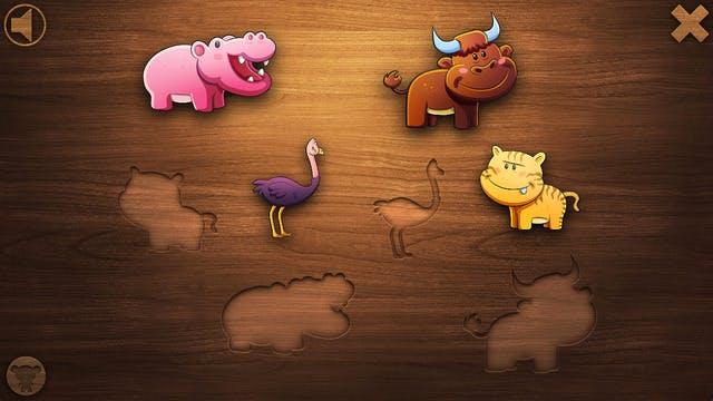 Jeux d'animaux éducatifs
