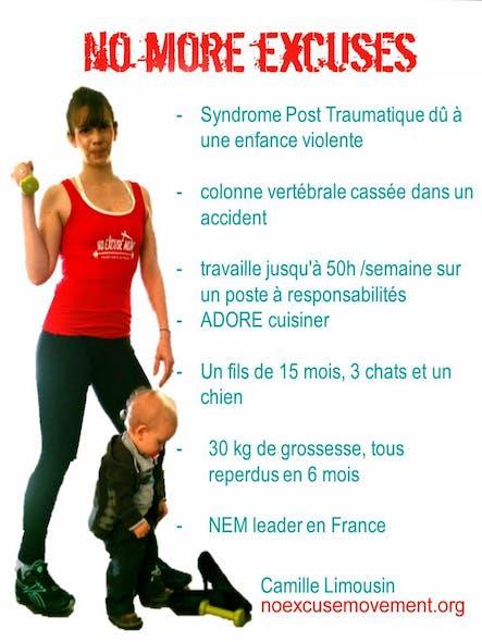 Camille Limousin, présidente de l'association No         Excuse Mom France et Manager régionale Europe du         mouvement