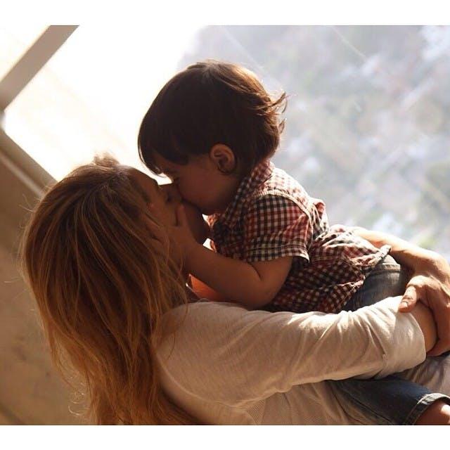 Shakira avec Milan