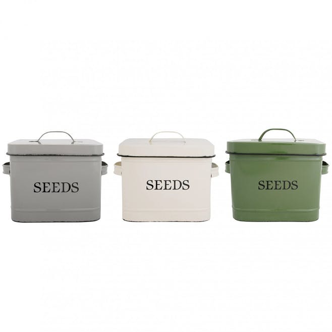 Boîte de rangement pour graines