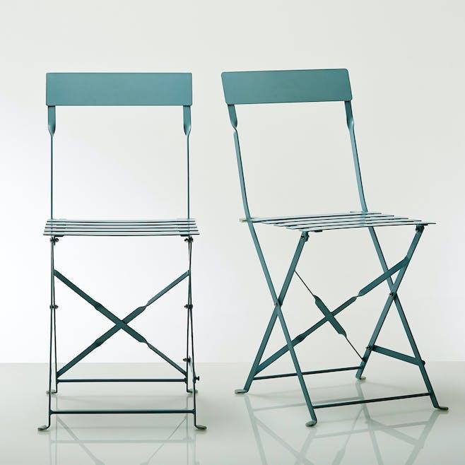 Chaise pliante métal