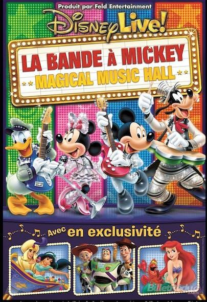 Tous au spectacle: Disney Live, la bande à Mickey         !