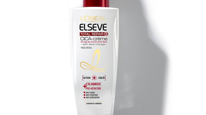 L'Oréal Paris, Cica-Crème Elsève Total Repair 5,         Longueurs et Pointes