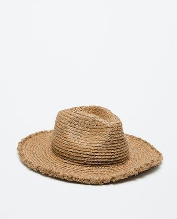 Un chapeau de paille