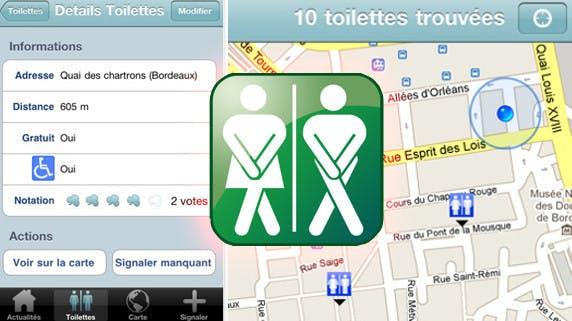 « Où sont les toilettes »