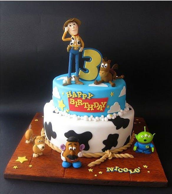Gâteau Toy story 2