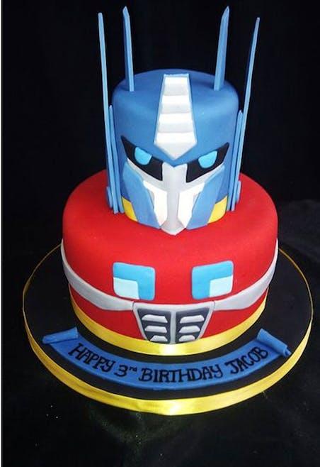 Gâteau Transformers