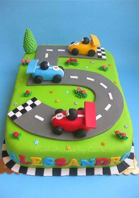 Gâteau circuit formule 1