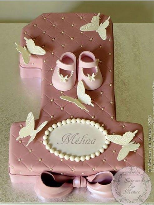 Gâteau danseuse étoile