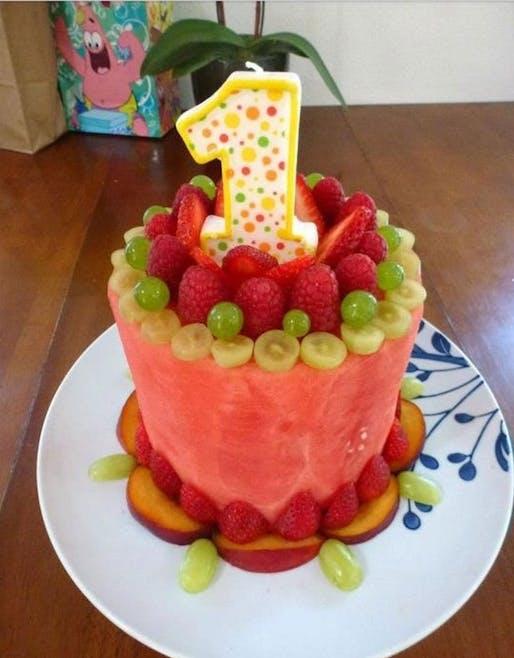 Gâteau fruit