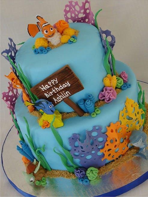 Gâteau le monde de Némo