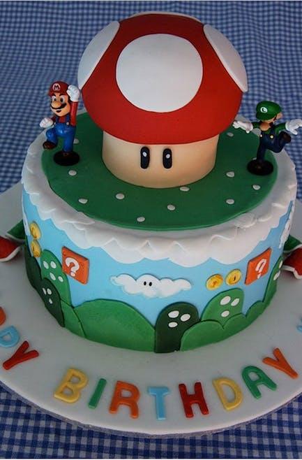 Gâteau petit champignon