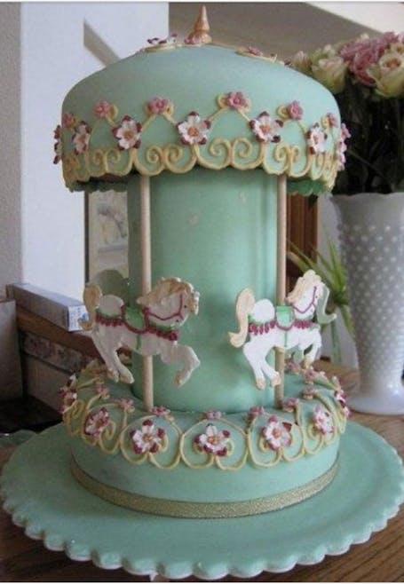 Gâteau petit manège