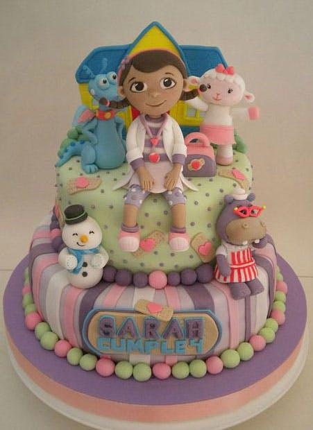 Gâteau petite fille