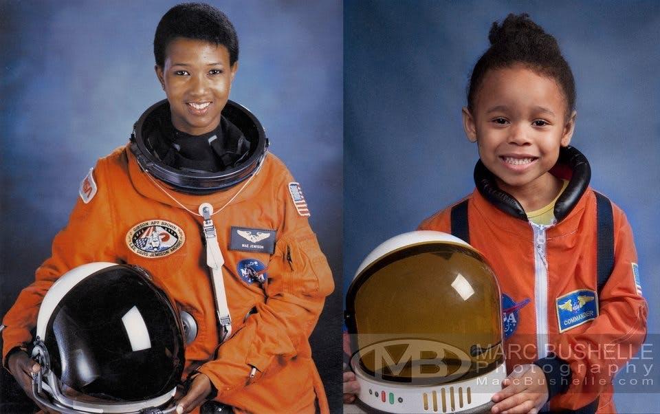 Mae Jemison, première femme afro-américaine à intégrer         la NASA