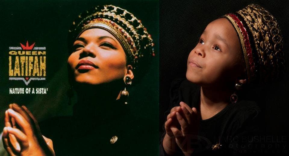 Queen Latifah, chanteuse hip hop fermement engagée à         la cause féministe