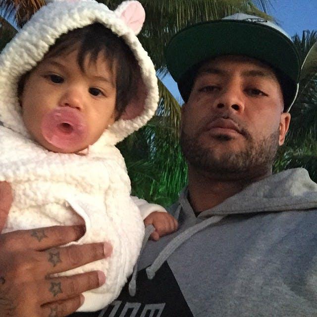 Booba et sa fille Luna