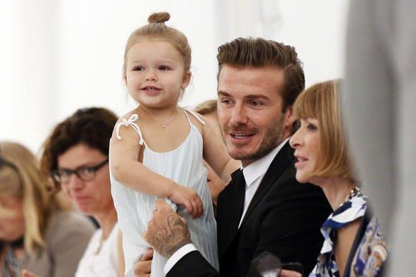 David Beckham et Harper