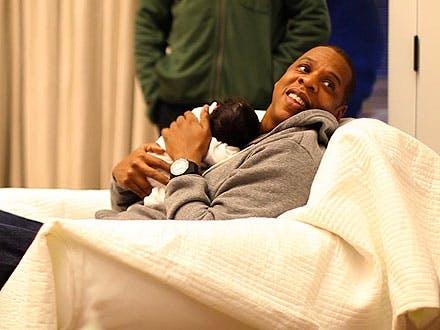 Jay-Z et Blue Ivy
