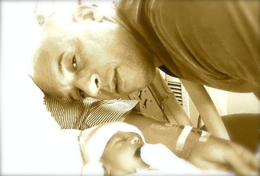 Vin Diesel et sa fille Pauline