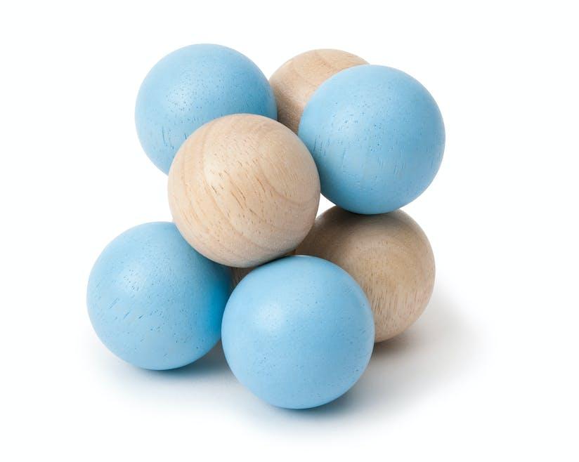 Hochet perles en bois