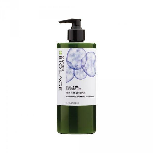 Cleansing Conditioner Soin Revitalisant Lavant,        Biolage Matrix, 25€ (en salon)
