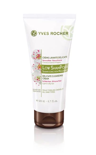 Low Shampoo Crème Lavante Délicate, Yves Rocher,        6,60€