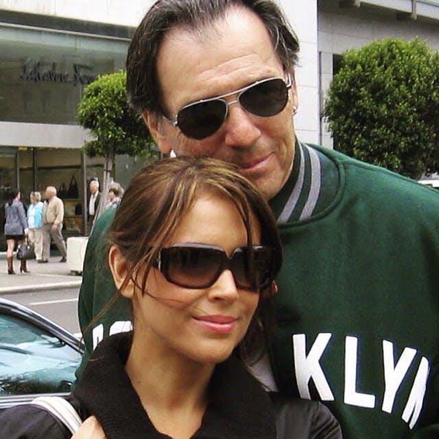 Alyssa Milano et son père