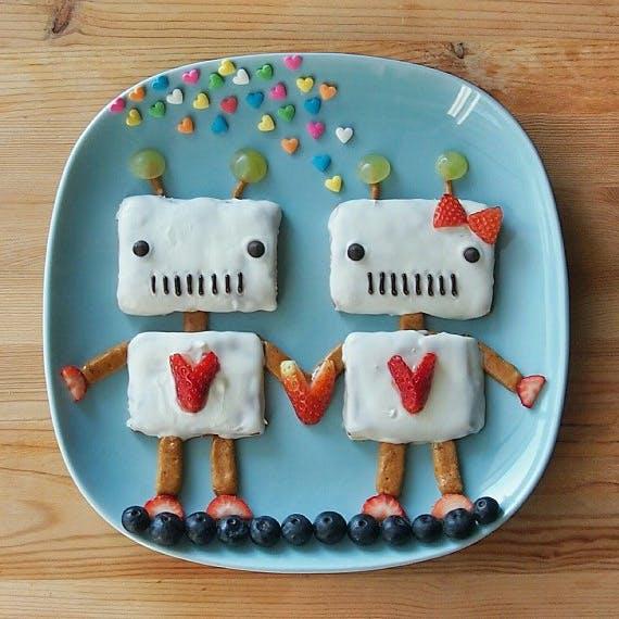 Un dessert d'amoureux