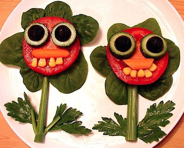 Des légumes en fleurs !