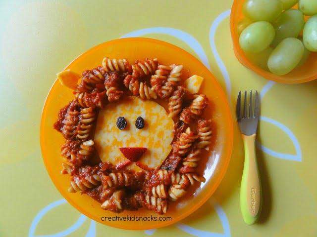 Crinière de sauce tomate