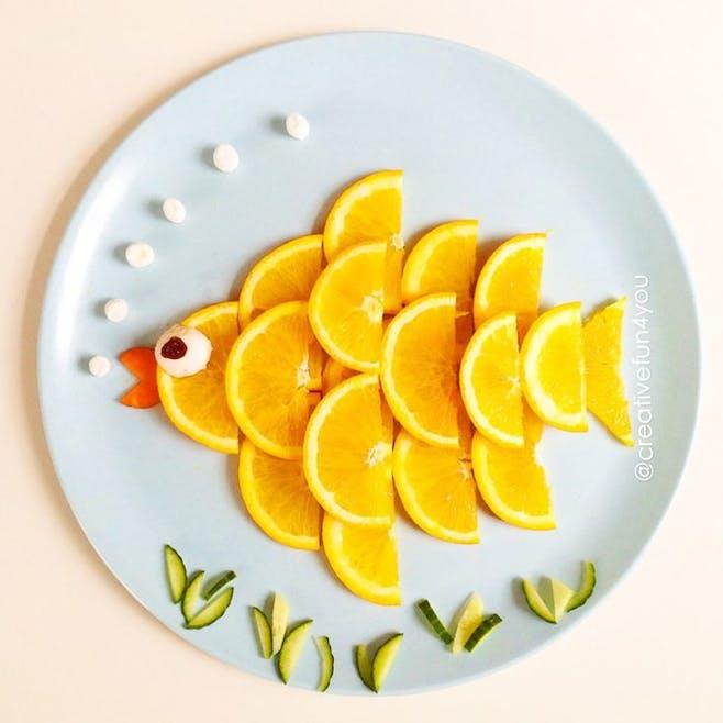 Un poisson vitaminé