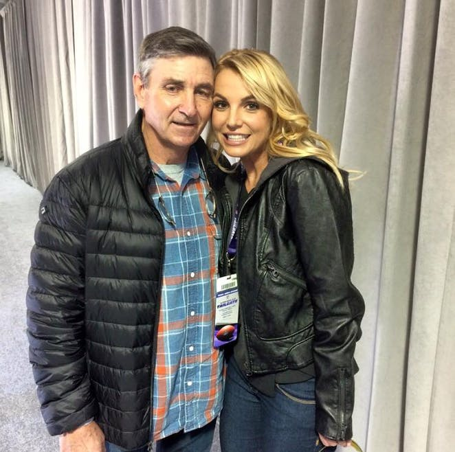 Britney Spears et son papa
