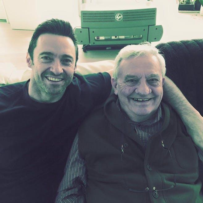 Hugh Jackman et son père