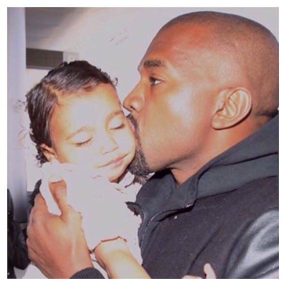 Kanye West et North