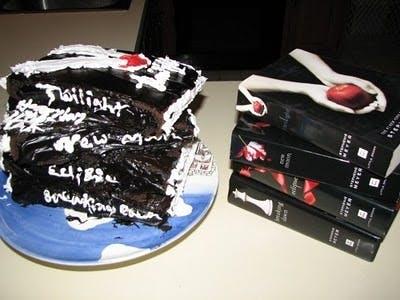 Gâteau Twilight