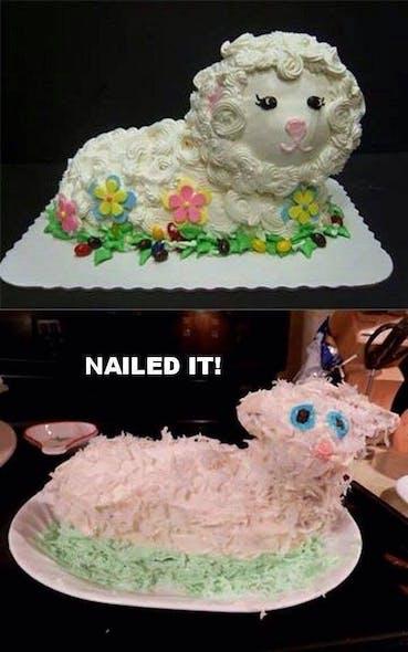 Gâteau petite brebis